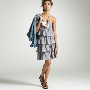 NWT J Crew Factory Gabriella Ruffle Dress